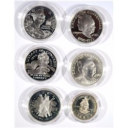 5-Silver Commemorative Sets