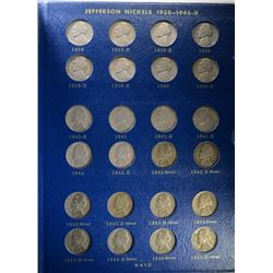 1938-1964 JEFFERSON NICKEL COMPLETE SET