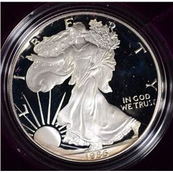1986 AMERICAN SILVER EAGLE IN ORIG PACKAGING