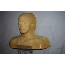 ZZ-CLEARANCE DISPLAY BUST FOR MASKS HATS WIGS SCULPTING ETC 7