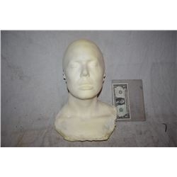 ZZ-CLEARANCE FEMALE DISPLAY HALF HEAD FOR MASKS HATS WIGS SCULPTING ETC
