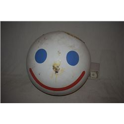 JACK IN THE BOX ORIGINAL SCREEN USED COMMERCIAL HEAD