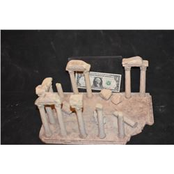 ZZ-CLEARANCE MINIATURE ANCIENT GREEK & ROMAN RUINS BUILT BY GRANT MCCUNE 3