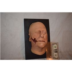 TRUE BLOOD F/X SILICONE BLOODY HEAD RIG