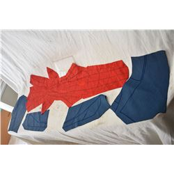SPIDER-MAN HOMECOMING SUIT MASK CHEST SIDES AND ARMS