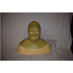 FINAL SPACE ALIEN FULL HEAD & FACE APPLIANCES ON LIFE CAST BUST UNFINISHED