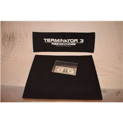 TERMINATOR 3 RISE OF THE MACHINES MARIO KASSAR PRODUCER CHAIR BACK & SEAT
