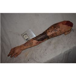 TRUE BLOOD TORN OFF TATTOOED SILICONE ARM SCREEN USED HERO