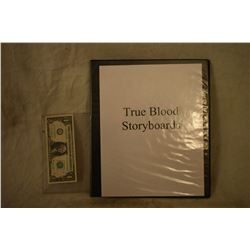 TRUE BLOOD PRODUCTION BOOK OF STORYBOARDS