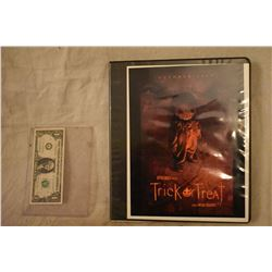 TRICK R TREAT PRODUCTION CONCEPT ARTWORK BOOK