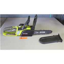 "Ryobi One+ P546 18V Cordless 10"" Chainsaw, Charger Not Included"