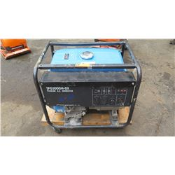 Tsurumi TPG 5000 H-DX Construction/Industrial Grade Portable Generator