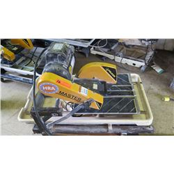 Felker Tile Master SC Wet Masonry Saw