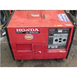Honda EX 3300 Generator, Has Electric Start (Required Jump Start, May Need New Battery)
