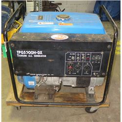Tsurumi TPG 5000 H-DX Construction/Industrial Grade Portable Generator -Being Sold For Parts Repair