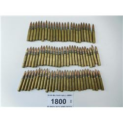 30-06 MILITARY BALL AMMO