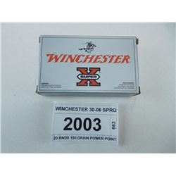 WINCHESTER 30-06 SPRG