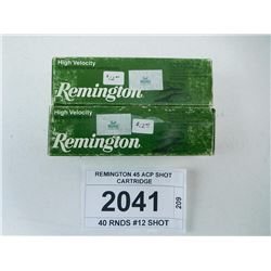 REMINGTON 45 ACP SHOT CARTRIDGE