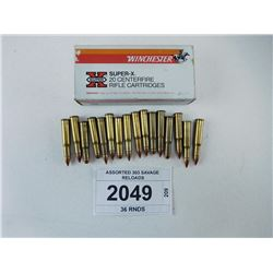 ASSORTED 303 SAVAGE RELOADS