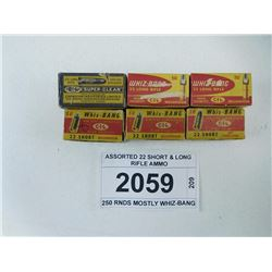 ASSORTED 22 SHORT & LONG RIFLE AMMO