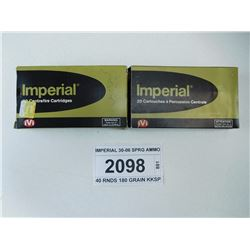 IMPERIAL 30-06 SPRG AMMO