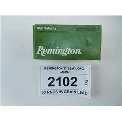 REMINGTON 32 S&W LONG AMMO