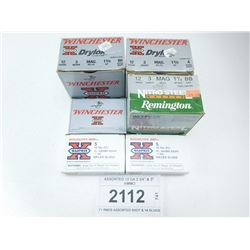 ASSORTED 12 GA 2 3/4  & 3  AMMO