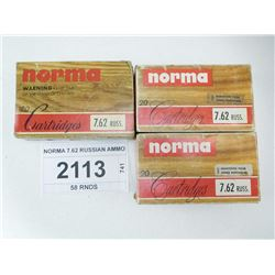 NORMA 7.62 RUSSIAN AMMO