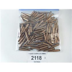7.62X51 SURPLUS AMMO
