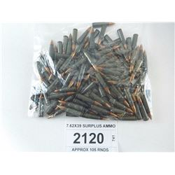 7.62X39 SURPLUS AMMO