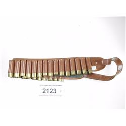 12 GA AMMO BELT WITH AMMO