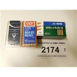 ASSORTED 22 WMR AMMO