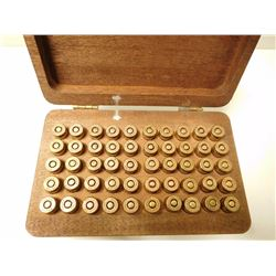PPU58 9MM AMMO & WOODEN BOX