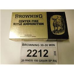 BROWNING 30-30 WIN