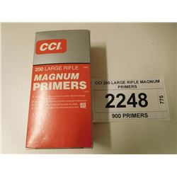 CCI 250 LARGE RIFLE MAGNUM PRIMERS