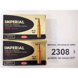 IMPERIAL 300 SAVAGE AMMO