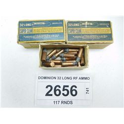 DOMINION 32 LONG RF AMMO