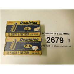 DOMINION 38 S&W AMMO