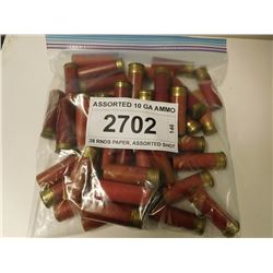 ASSORTED 10 GA AMMO