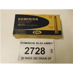 DOMINION 38-55 AMMO