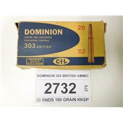 DOMINION 303 BRITISH AMMO