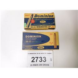 DOMINION 38-55 WIN SP AMMO