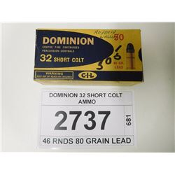 DOMINION 32 SHORT COLT AMMO