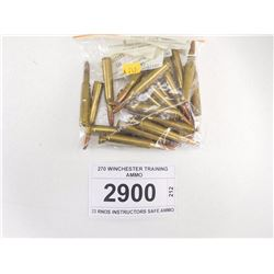 270 WINCHESTER TRAINING AMMO