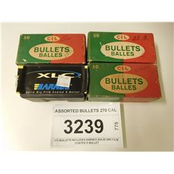ASSORTED BULLETS 270 CAL