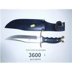 ALICE FIXED BLADE KINFE