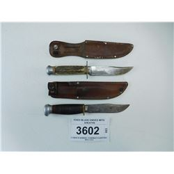 FIXED BLADE KNIVES WITH SHEATHS
