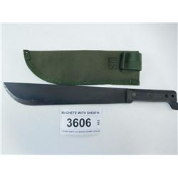 MACHETE WITH SHEATH