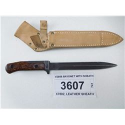 VZ858 BAYONET WITH SHEATH