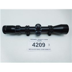 BUSHNELL TROPHY1.5-6X44 SCOPE